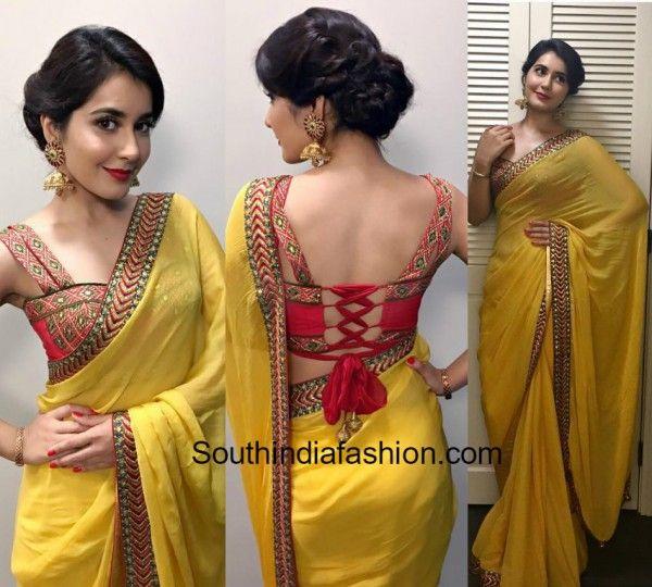 Raashi Khanna in Shilpa Reddy Saree photo
