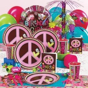 Hippie Birthday Party