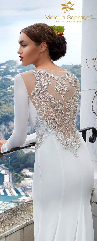 Victoria Soprano 2017 Wedding Dresses CAPRI / http://www.deerpearlflowers.com/victoria-soprano-2017-capri-wedding-dresses/2/