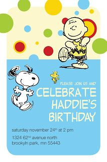 Design Crafts Artsy Sy Snoopy Birthday Party Aidan S 5th Bday Parties