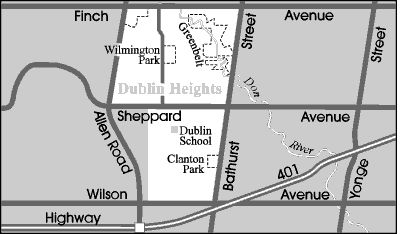 #Dublin is a quiet neighbourhood located in the north-central part of Toronto. Dublin's large #Jewish population revolves around the many Jewish cultural and learning centres as well as Synagogues situated throughout this #neighbourhood.