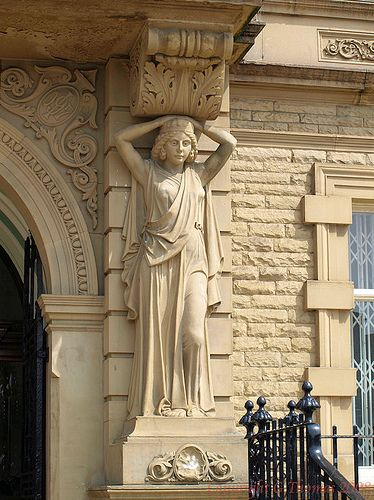 Ossett Town Hall 5 by gedtee, via Flickr  Gerald Thomas