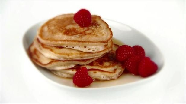 Almond Pancakes Recipe   Giada De Laurentiis   Food Network