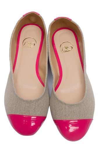 Buy Oli Chic SBE022 Ballet Flats (Magenta) online at Lazada Philippines.  Discount prices