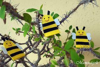Manciságok: Méhecskés ujjbáb