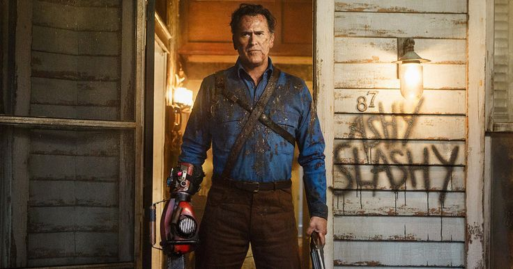Ash Vs. Evil Dead: Bruce Campbell Calls Out Illegal Downloaders -- Bruce Campbell pulls no punches during an appearance where he calls out fans who illegally download his Starz series Ash vs. Evil Dead. -- http://tvweb.com/ash-vs-evil-dead-illegal-downloads-bruce-campbell/