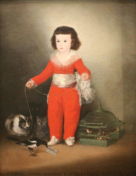 Francisco Goya, 1788, Don Manuel Osorio Manrique de Zuñiga, Metropolitan Museum of Art