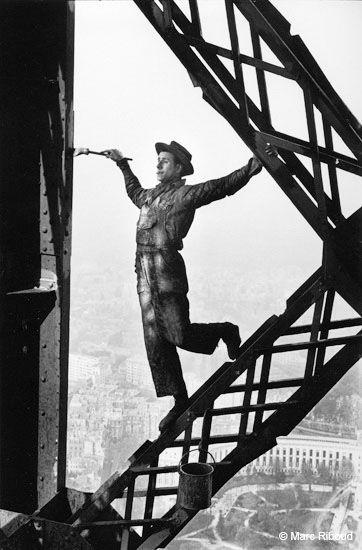 Eiffel Tower painter