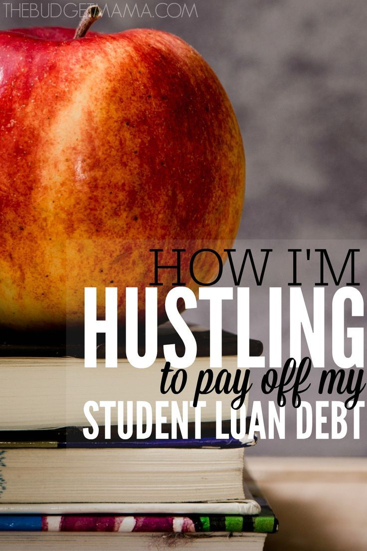 How much student loan debt do you have? This one girl's story of how she paid off $50,000 of her debt in 3 years and how she's planning on hustling to pay off her student loans.