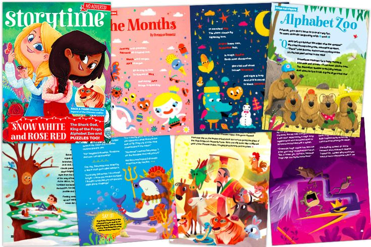 Storytime 41 comes with a fantastic mix of beautifully illustrated children's stories. Find out more at http://www.storytimemagazine.com