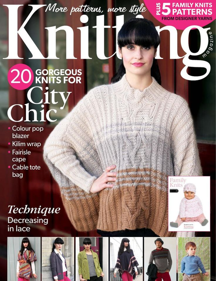 Knitting Magazine November 2013 - 轻描淡写 - 轻描淡写