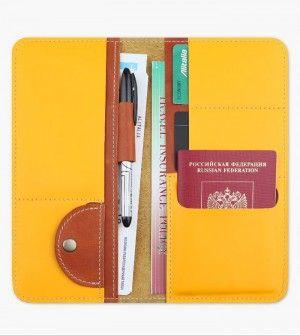 Холдер для документов Artskill Travel желтый