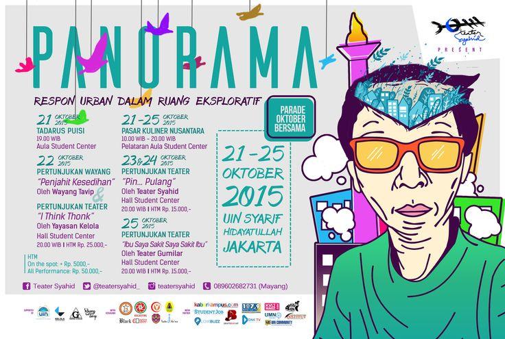 PANORAMA  Teater Syahid UIN Jakarta 2015