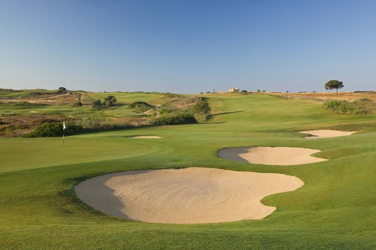 Hole 17 Donnafugata South Course - Links in Sicily