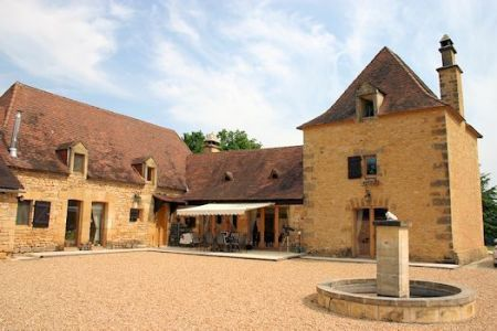 Country house / Manoir for sale in Montignac, France : Large renovated property with tower and two guesthouses on 10.9 hectares.