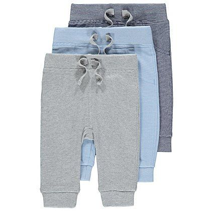 3 Pack Stripe Joggers | Baby | George at ASDA £7.00