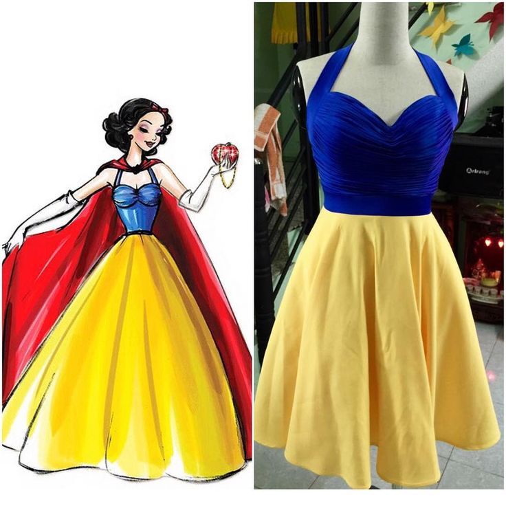 "58 Likes, 2 Comments - MollyNguyenDesign (@mollynguyen_design) on Instagram: ""My Snow White :) make by Meansurement :) #SnowWhite #design #disney #disneyland #disneybound #girl…"""