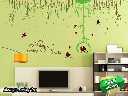 LivingSocial Shop: Romantic Wall Deco Sticker