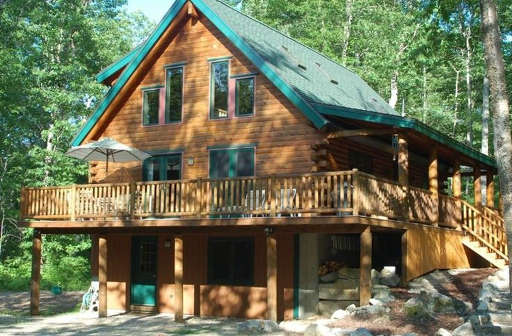 Moultonborough vacation rental vrbo 207152 3 br lake for New hampshire log cabins