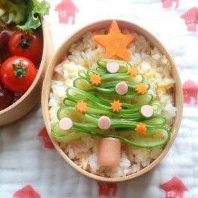 クリスマスツリー☆ちらし寿司