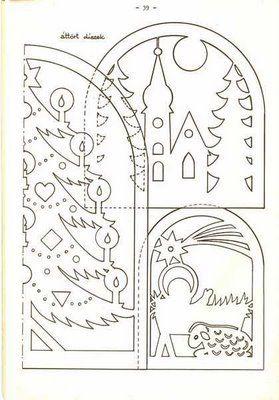 Вычинанки и киригами (Новый год и Рождество) - AngelOlenka - Álbumes web de Picasa