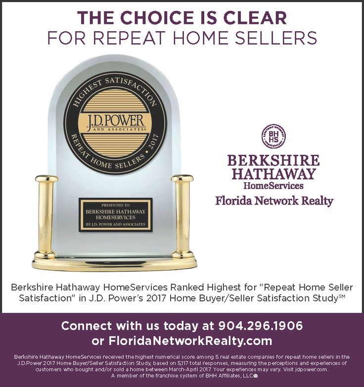 Berkshire Hathaway HomeServices Ranked Highest for Repeat Home Seller Satisfaction in J.D. Powers 2017 Home Buyer/Seller Satisfaction Study
