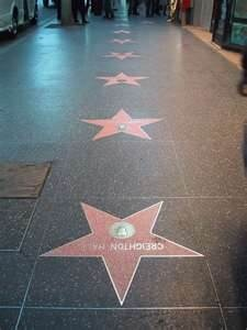 Hollywood Walk of fame♥