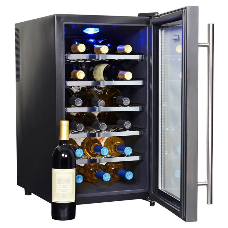 NewAir AW-181E Thermoelectric Wine Cooler - AW-181E