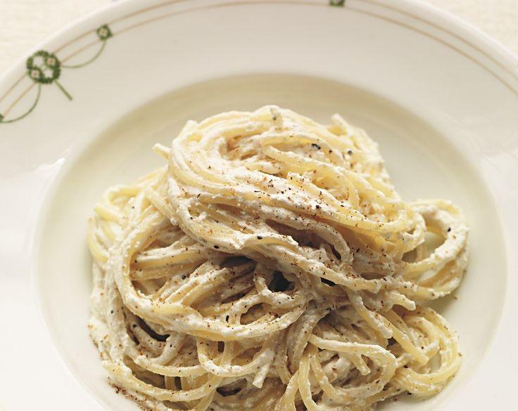 spaghetti met ricotta
