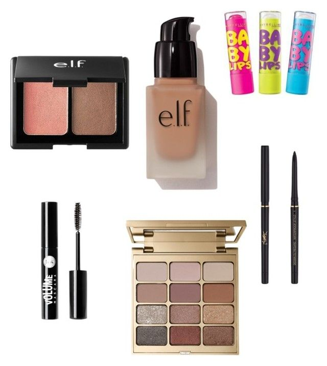 """7th grade makeup"" by bellarose1717 on Polyvore featuring beauty, Charlotte Russe, Stila, e.l.f., Yves Saint Laurent and Chapstick"