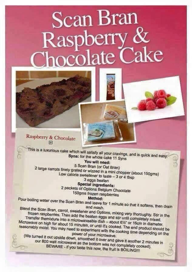 Slimmers world cake recipes