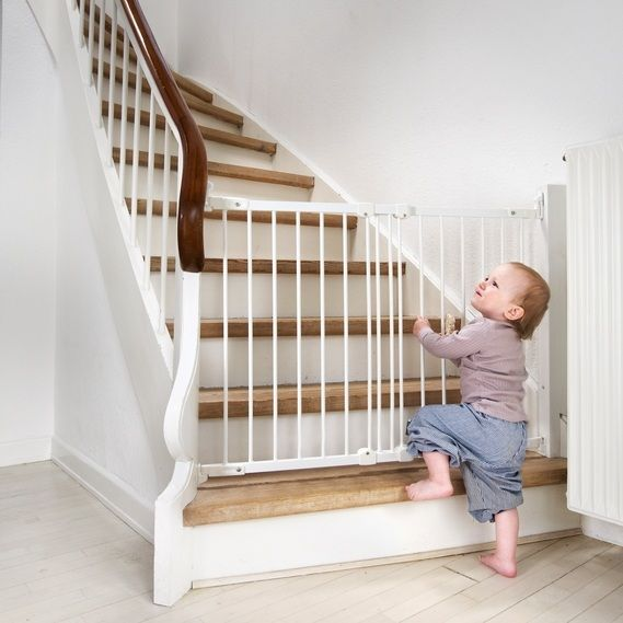 Babydan Flexi Fit Gate Metal Nursery Kids Rugs Stair