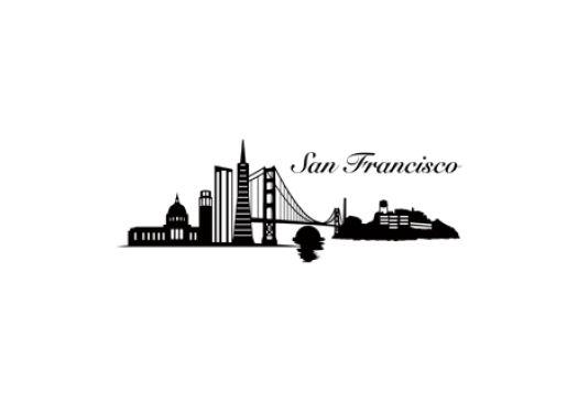 san francisco tattoos -skyline 1