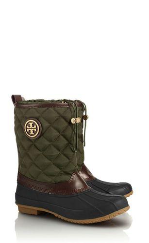 So much classier than bean boots//