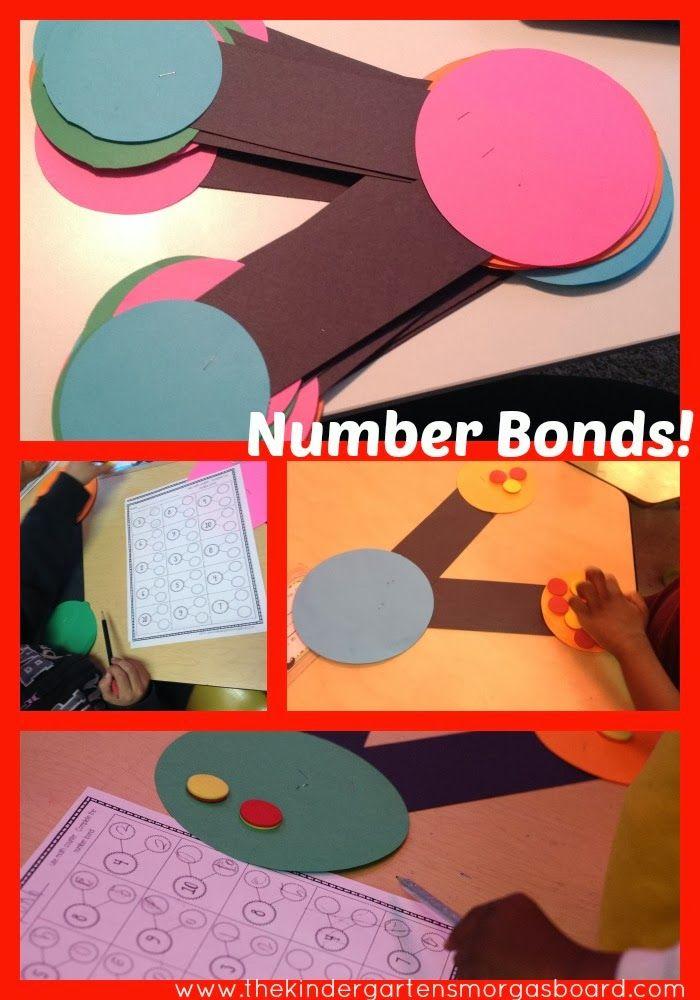 A Kindergarten Smorgasboard Number Bond Lesson - Smedleys Smorgasboard of Kindergarten