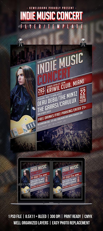 Indie Music Concert Flyer / Poster