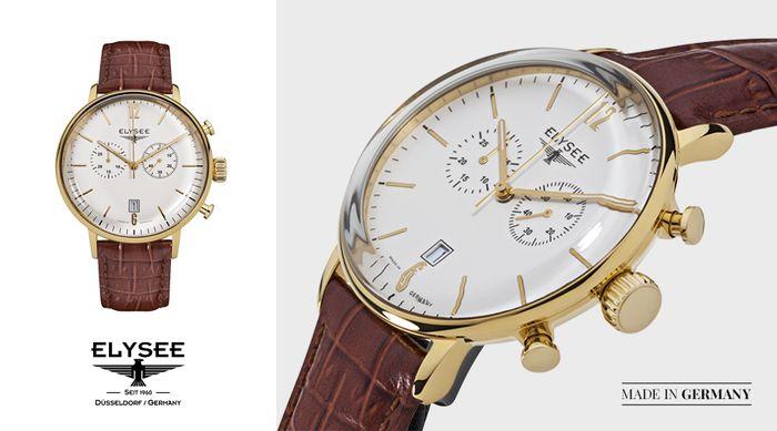 Zegarek Stentor Elysee z kolekcji Classic. Sprawdź, gdzie można kupić nasze zegarki: http://bit.ly/Sklepy_Elysee