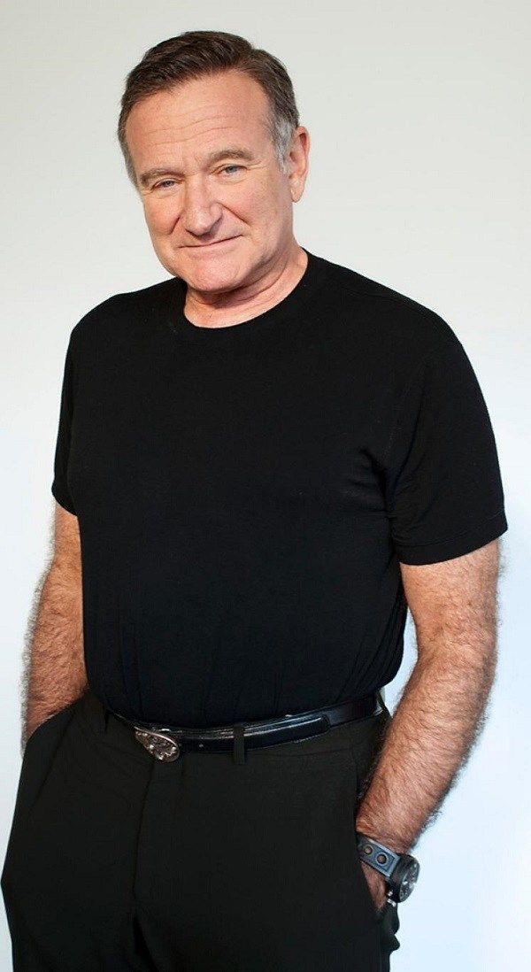 Robin Williams Height, Weight, Biceps Size and Body Measurement