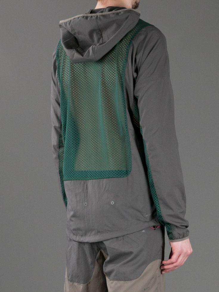 painful-revenge:  Nike x Undercover Gyakusou Hooded Mesh Panel Jacket (II)