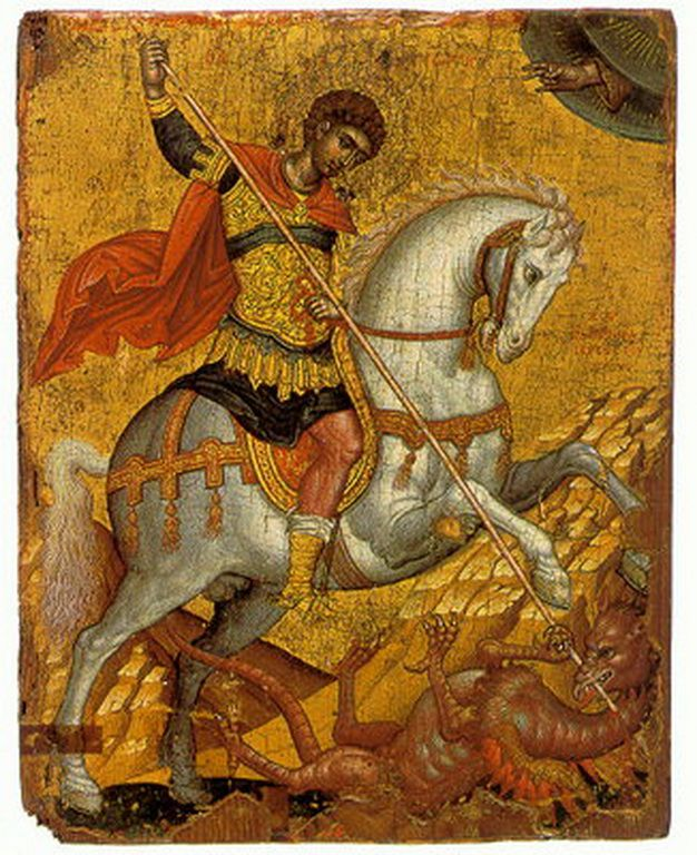 Τζάνες Εμμανουήλ-St.George killing the dragon.jpg (626×768)