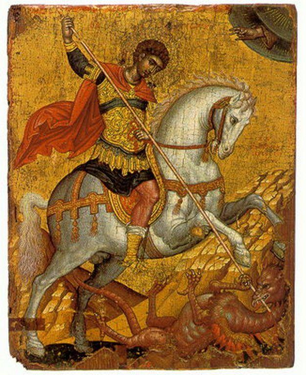 Τζάνες Εμμανουήλ-St.George killing the dragon.jpg (626×768)