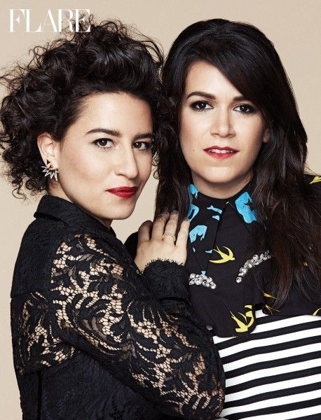 "Broad City's Abbi and Ilana: ""The Best F-cking Interview"" - Deputy editor Maureen Halushak says yaaasss queen to a most sumptuous dinner with Broad City stars Ilana Glazer & Abbi Jacobson. Tuck into the story of these perfectly paired creators, just in time for season three - FLARE"