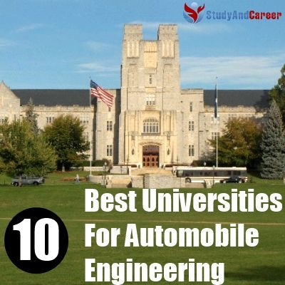 Best Universities For Automobile Engineering In The World