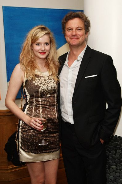 Colin Firth and Rachel Hurd-Wood at Dorian Gray After Party in London - Colin Firth Photo (8121726) - Fanpop