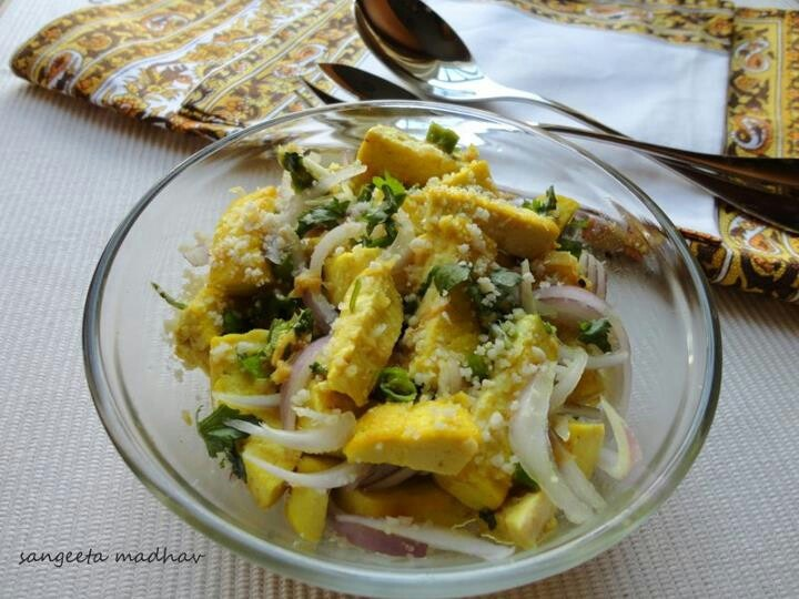 Asian Tofu Salad! | I cook! I click! | Pinterest