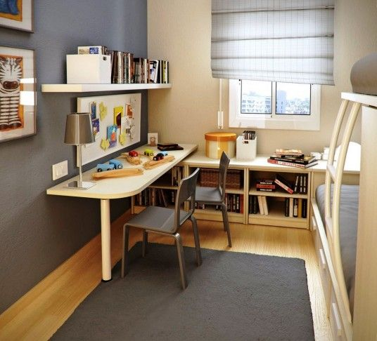 Simple Study Room Decorating Ideas