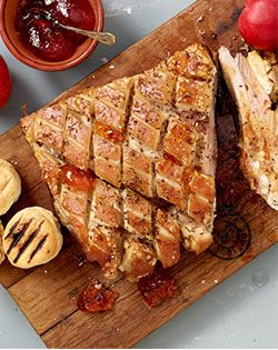 Apricot-stuffed Pork Belly Checkers - Better and Better | Recipes