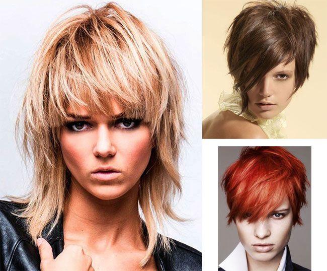 Immagini tagli di capelli sfilati