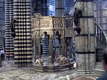 One of my favorite churches in Italy.  Siena Cathedral - Wikipedia, the free encyclopedia