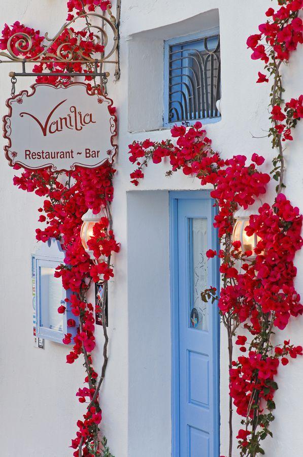Vanilla Bar #Firostefani #Santorini #Greece